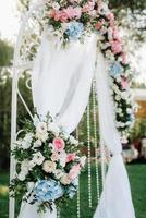 zona cerimonia di nozze foto