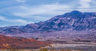 scenario del parco nazionale della valle della morte foto