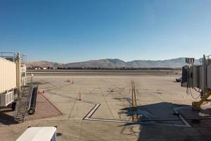 scene intorno all'aeroporto di reno nevada a novembre foto