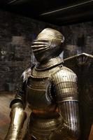 antica armatura di difesa medievale foto