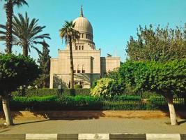edificio storico nella città di hugharda, egitto foto