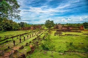 vat phou o wat phu nella provincia di Champasak, nel sud del Laos foto