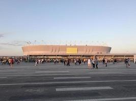 stadio di rostov nella città di don. Russia foto