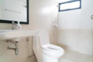 sfocatura astratta e servizi igienici sfocati o servizi igienici per lo sfondo foto