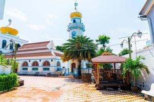bellissimo musjid asassul islam a songkla, thailandia foto