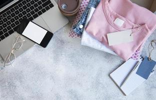 concetto di shopping online foto