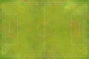 vista aerea del campo di calcio, stadio di calcio, stadio di calcio foto