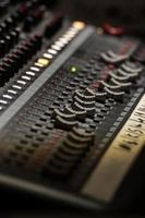 scheda mixer analogico foto