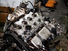 motore a combustione interna diesel foto