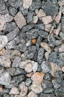 trama di pietre per lo sfondo della tela foto