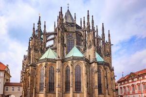 st. cattedrale di san vito a praga, paese ceco foto