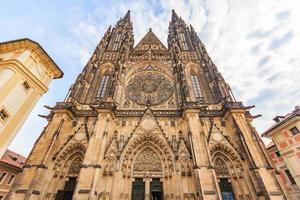 st. Cattedrale di San Vito a praga, repubblica ceca. foto