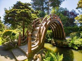 il giardino del tè giapponese nel parco del cancello dorato, san francisco, california, usa foto