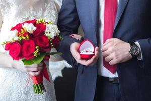 matrimonio romantico foto