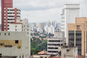 edifici del centro della città di san paolo foto