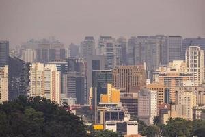 edifici nel centro di san paolo, brasile foto