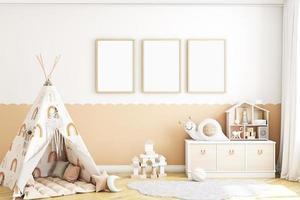 modello di cornice per bambini foto