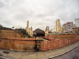 stazione ferroviaria estacao da luz, sao paulo, brasile - 16 febbraio 2019 foto