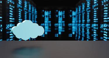 server di cloud computing foto