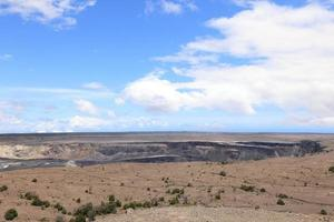 vulcano kilauea sulla grande isola delle hawaii foto