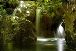 cascate in israele, vedute della terra santa foto