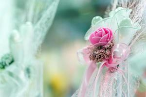 bouquet da sposa colorato bellissimi fiori romantici foto