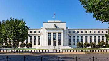 edificio della Federal Reserve, la sede della Federal Reserve Bank. Washington DC, Stati Uniti d'America. foto
