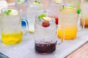 soda italiana colorata foto