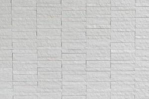 muro di mattoni bianchi con copia spazio foto