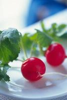 verdure fresche piene di nutrimento foto