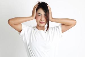 donna dell'est asiatico foto