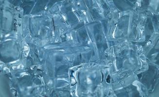 cubetti di ghiaccio, foto ravvicinata