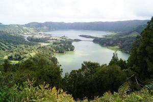 paesaggio sulle isole azzorre, portogallo foto