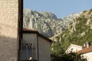 bella vista di viaggio in montenegro foto