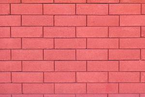 sfondo di muro di mattoni rossi glamour foto