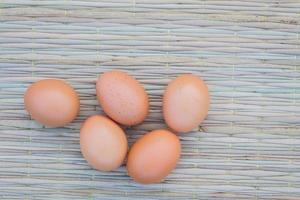 uova su mat tradizionale tailandese foto