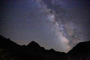 mar nero, stelle notturne dell'altopiano, tacchino, vista foto