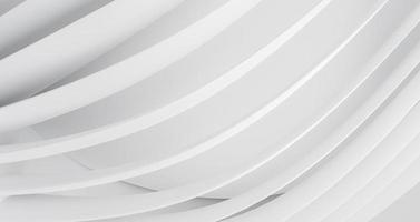 sfondo geometrico moderno con linee rotonde bianche. foto