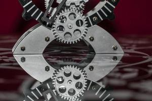 orologio tecnologico vintage industriale astratto retrò foto