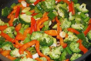 verdure fresche e sane foto