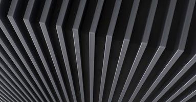 lo sfondo del modello astratto in metallo. illustrazione 3D. foto