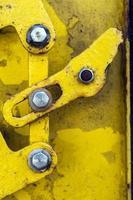 sfondo di ferro metallico grunge arrugginito sporco foto