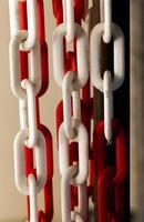 catena di metallo arrugginito grunge astratto foto