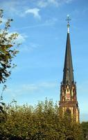chiesa del tempio del cristianesimo storico d'epoca foto