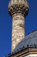 architettura della moschea di religione islamica in turchia foto