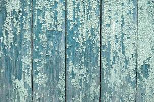 vecchio sfondo naturale in legno blu foto
