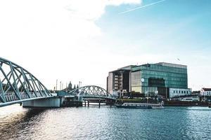 bella vista di amsterdam, paesi bassi, europa foto