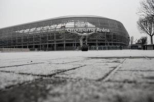 arena groupama a budapest, ungheria, europa foto