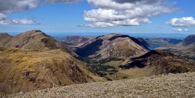 ombre sulle colline di Ennerdale foto