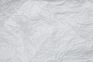 trama ravvicinata di carta stropicciata foto